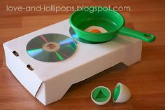 Love and Lollipops: Easy to make Hot Plate