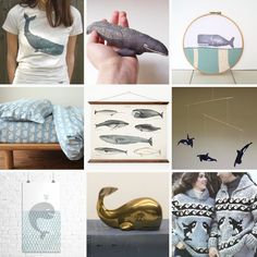 Whale of a Tale - Etsy Whale Round-Up on Lost and Fawned