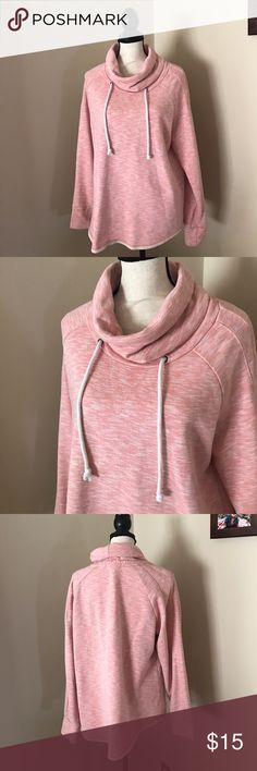 LIGHT PINK GAP COWL NECK SWEATSHIRT SIZE XL Size XL by GAP. GAP Sweaters Cowl & Turtlenecks