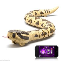 Bluetooth Remote Control 30 inch rc Rattlesnake Frequency RC Snake for IOS & Android phone controlled toys P3