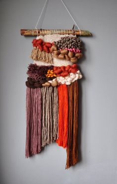 gallery wall with tapestry / tapestry gallery wall ` gallery wall with tapestry ` gallery wall ideas with tapestry ` tapestry and gallery wall ` gallery wall ideas tapestry Weaving Wall Hanging, Weaving Art, Tapestry Weaving, Loom Weaving, Hand Weaving, Wall Hangings, Art Shed, Boho Tapestry, Wall Tapestry
