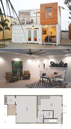 Доставка контейнеров Дом Планы Идеи 16 - architecturemagz.com