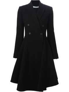 GIVENCHY  flared double breasted coat