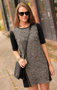 Little tweed dress