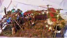 """Presepe ambientazione, artigianale, """" Il Pergolato""""art. 2443.(Pellegrini Story) Spedizione gratis Christmas Tree, Holiday Decor, Ebay, Home Decor, Environment, Teal Christmas Tree, Decoration Home, Room Decor, Xmas Trees"""