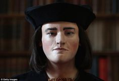 Revealed: This is the face of King Richard III, reconstructed from 3D scans of his skull after the positive identification of his skeleton found beneath a social services car part in Leicester last year.