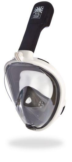 h20 ninja mask full face snorkeling mask