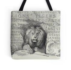 Victorian Lion Print