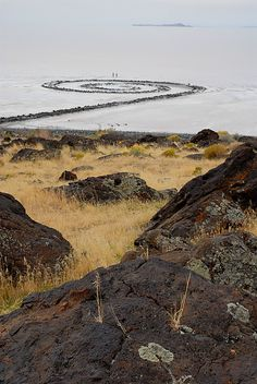 Spiral Jetty by Robert Smithson - Land Art!