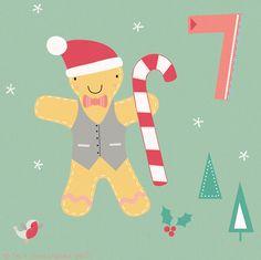 Day 7 Christmas Advent, by Faye Buckingham 25 Days Of Christmas, Christmas Is Coming, Christmas Crafts, Merry Christmas, Christmas Decorations, Advent Calander, Christmas Calendar, Countdown Calendar, December Daily