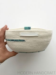 Modern Handcraft // Rope Bowls - My Newest Obsession