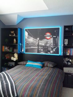 teen boy room- my awesome cousins room!