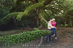 Mark Eric Photo Journal » Amy and Bailey … A Jungle Gardens Engagement Session