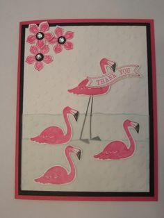 Thank You ~ Flamingo Lingo stamp set