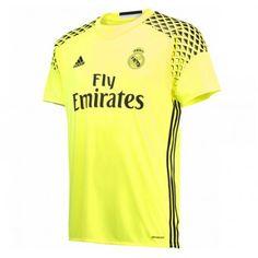 Real Madrid 16-17 Målmand Udebane Trøje Kortærmet.  http://www.fodboldsports.com/real-madrid-16-17-malmand-udebane-troje-kortermet.  #fodboldtrøjer