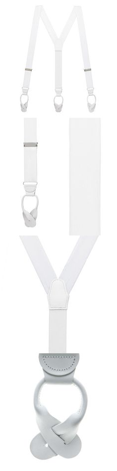 Suspenders Braces 105387: Bangkok Silk Suspenders - Button (8 Colors) -> BUY IT NOW ONLY: $59.95 on eBay!