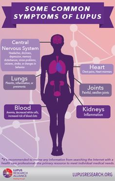 Although there are many symptoms of lupus, here are some common ones.