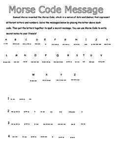 Knowing The Morse Code Alphabet Could Save Your Life In A Disaster