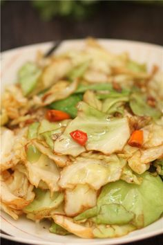 Chinese Fried Cabbage – Chinese recipes food culture cooking style