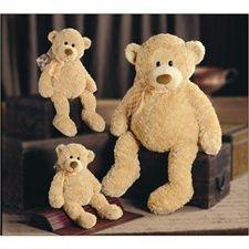 """StuffedAnimals.com™: Gund Teddy Bear, Plush Stuffed Teddy Bears: Gund Manni 16"""" Teddy Bear"""