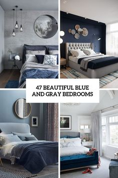 Blue and Gray Bedroom Design. Blue and Gray Bedroom Design. In the Instance Of Boy S Bedroom People Have A Tendency to Navy Blue Bedrooms, Blue Gray Bedroom, Gray Bedroom Walls, Bedroom Colors, Room Decor Bedroom, Bedroom Ideas, Master Bedroom, Grey Bedroom Design, Interior Design Living Room