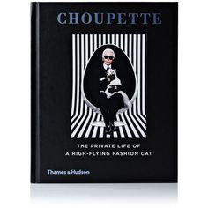 Karl Lagerfeld The Life Of A High Flying Cat ($24) ❤ liked on Polyvore featuring black