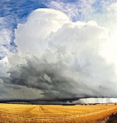 This incredible cyclic classic supercell produced an impressively long inflow tail, countless wallclouds, several brief tornadoes over 4 non-stop hours of rotation near Swan Hill in northern Victoria, Australia - Dec 18th 2011.