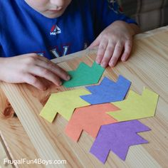 Simple and Fun Tessellations Puzzles for Kids. Great way to play with shapes.