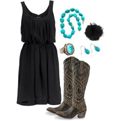 love this whole outfit featuring old gringo Belinda boots.