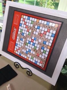 Matt Rogers makes a Personalized & Framed Scrabble Board on #HomeandFamily! Tune in weekdays at 10/9c on Hallmark Channel!  #homeandfamily tv
