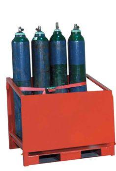 ALMACENES - BOTELLAS DE GAS. CT1. Con capacidad para almacenar 8 botellas de 285 mm de diámetro.