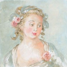 Original Fine Art Canvas Giclee Print by Debi Coules