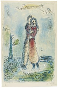 Marc Chagall, JOY (M. 976)