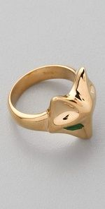 the row. fox ring.