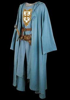 """Figurino do filme """"Kingdom of Heaven"""". Guy de Lusignan, cunhado do rei Balduíno IV, aparece usando um semelhante a esse."""
