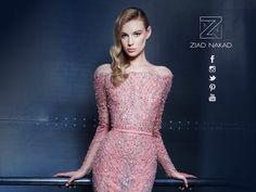 Dazzle them this New Year's Eve in your custom-made #couture dress #fashion #hautecouture #ziadnakad