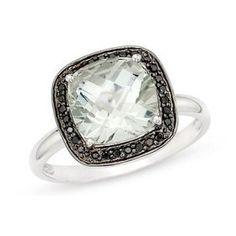 Black diamond rings... opinions! (pics) :  wedding alternative black diamond liori diamonds right hand 1 1 3 1 10 Carat Green Amethyst And Black Diamond 14k White Gold Ring1