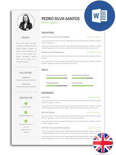 The best CV models fully editable in Word Cv Models, Resume Models, Resume Template Free, Free Resume, Templates, Best Resume, Resume Cv, Modelo Curriculum, Cv Inspiration