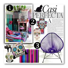 """""""Sugar Sugar"""" by fortyandlovingit ❤ liked on Polyvore featuring interior, interiors, interior design, home, home decor, interior decorating, Whiteley, Innit, bold and colorful"""