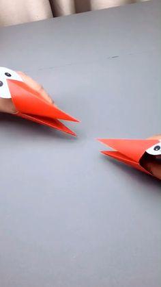 Paper Crafts Origami, Paper Crafts For Kids, Cardboard Crafts, Diy Home Crafts, Fun Crafts, Origami Toys, Boat Crafts, Cardboard Boxes, Animal Crafts For Kids