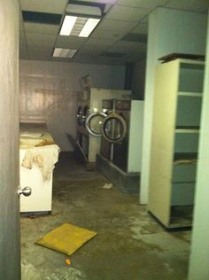 The Astros old laundry room