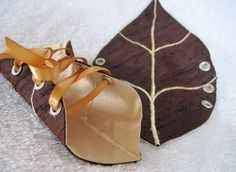 Leaf arm cuffs