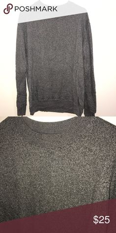 Brandy Melville grey speckle sweatshirt Oversized grey speckled sweatshirt Brandy Melville Sweaters