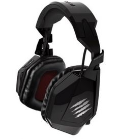 The F.R.E.Q. TE Stereo Gaming Headset is available in matte black, gloss black, gloss white and gloss red colors.