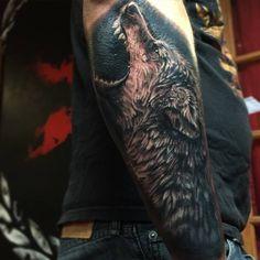Wolf Tattoo by Pony Lawson by PonyLawson