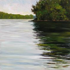 Reflections on the Hudson - Takeyce Walter