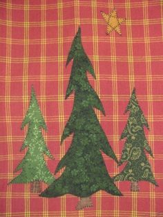 +pib North Woods Applique PDF Pattern for Tea by quiltdoodledesigns, $3.00
