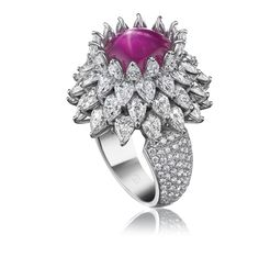 Harry Winston Star Ruby Ring