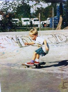 little skater dude