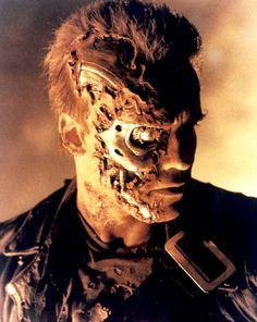 Battle damaged Terminator